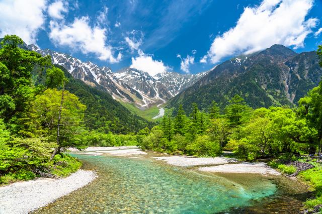 日本屈指の山岳リゾート<br>上高地